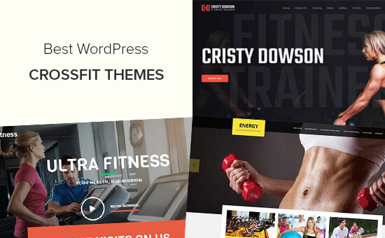 Best WordPress themes for crossfit gyms