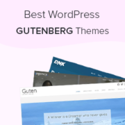 26 Best Gutenberg Friendly WordPress Themes