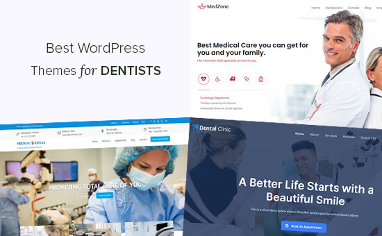 Best WordPress Themes for Dentists