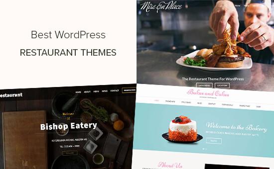 Best WordPress restaurant themes for cafes and restaurants