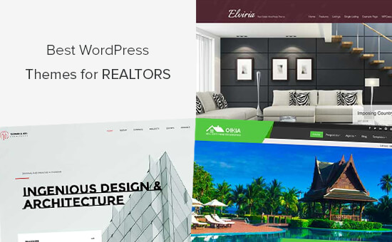 Best Real Estate WordPress Themes for Realtors