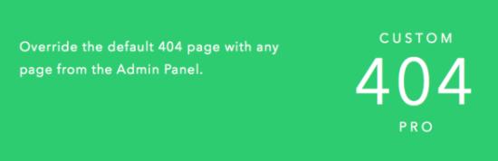 custom 404 pro wordpress redirect plugin