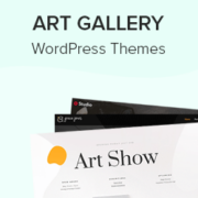23 Best WordPress Themes for Art Galleries