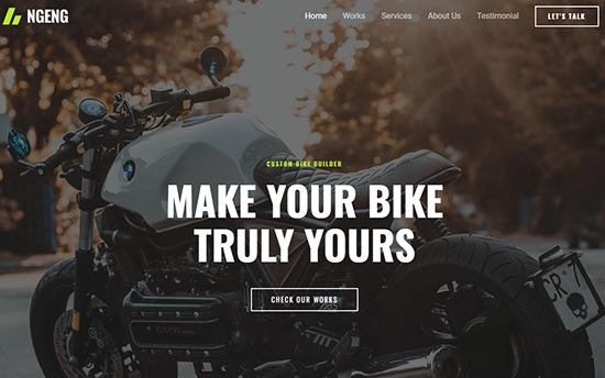 Astra Auto Repair WordPress Theme