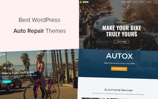 Best WordPress Themes for Auto Repair