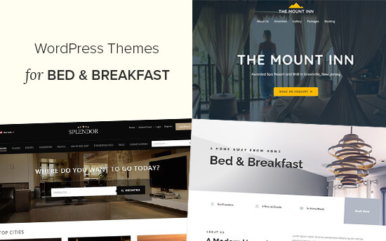 Best WordPress Themes for Bed and Breakfast