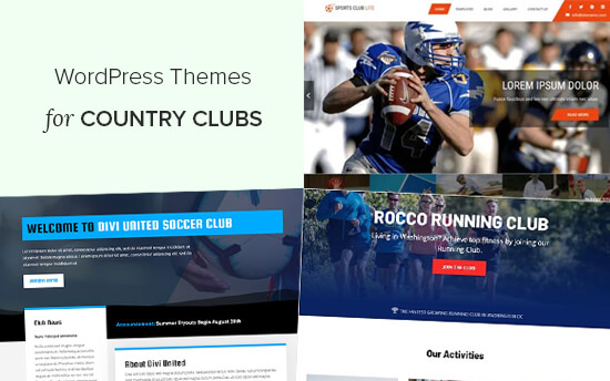 Best WordPress Themes for Country Clubs