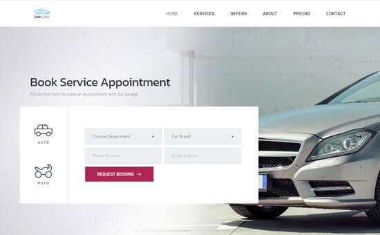Brizy - car clinic