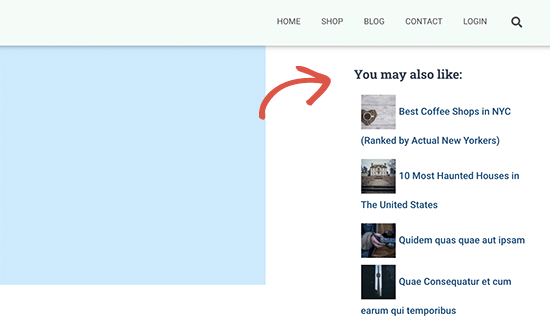 Recent posts by category shortcode in sidebar