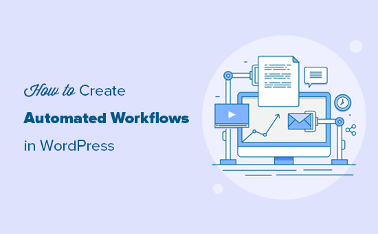 Using automation to create workflows in WordPress