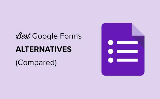 best alternatives for google forms