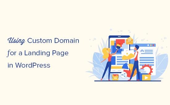 Een aangepast domein toevoegen voor uw WordPress-bestemmingspagina