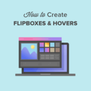 How to Create Flipbox Overlays and Hovers in WordPress