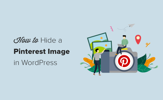How to Hide Pinterest Images in WordPress Blog Posts