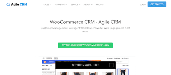 Agile CRM for WooCommerce
