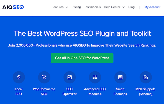 AIOSEO WordPress SEO plugin