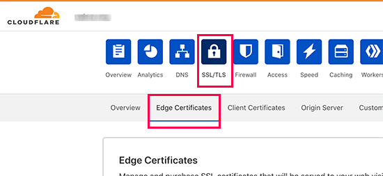 Setting up HTTPS security headers in Cloudflare