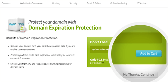 Domain protection