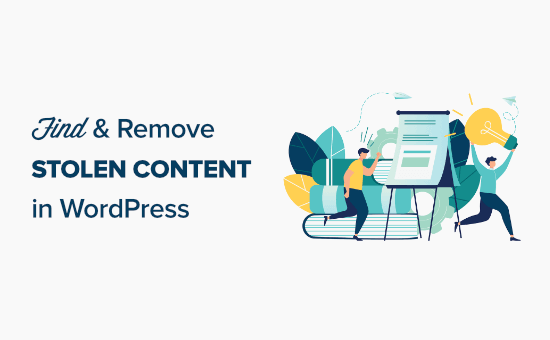 5 ways to find and remove stolen content in WordPress