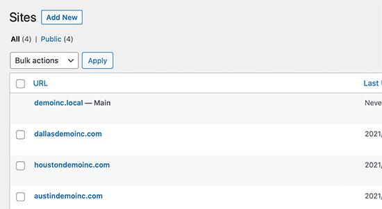 Domini personalizzati per siti WordPress su una rete multisito