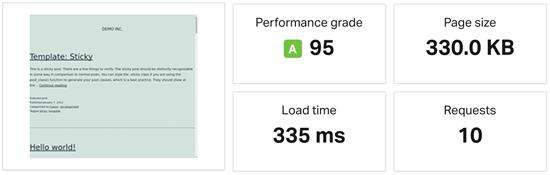 Dreamhost Website Speed Test