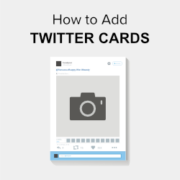 Beginners Guide on How to Add Twitter Cards in WordPress