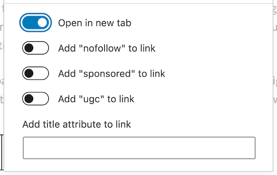 Open external links in new tab