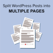 How to Split WordPress Posts into Multiple Pages (Post Pagination)