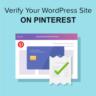 Verify your WordPress Site on Pinterest