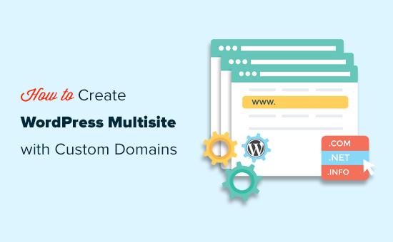 Créer un multisite WordPress avec différents domaines