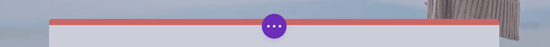 This button lets you expand the Divi controls along the bottom of the screen