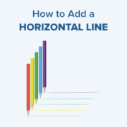 How to Add a Horizontal Line Separator in WordPress (5 Methods)
