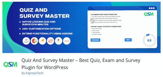 Maestro di quiz e sondaggi