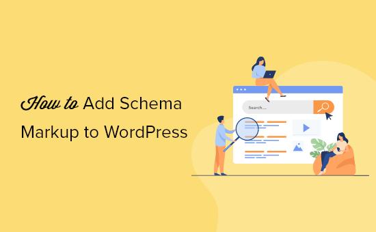 Adding schema markup to a WordPress website