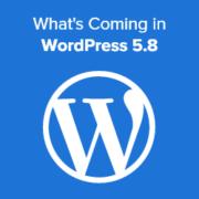 What's coming in WordPress 5.8 (Features & Screenshots)