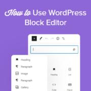 How to Use the WordPress Block Editor (Gutenberg Tutorial)