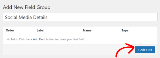 Add a new field
