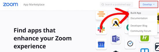Build Zoom app