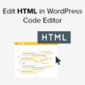Edit HTML in Code Editor