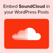 How to Embed SoundCloud in your WordPress Posts by using oEmbed