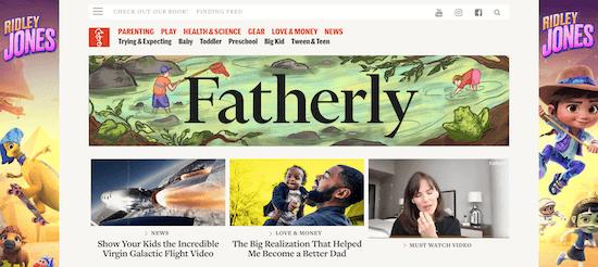 Fatherly Blog