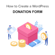 How to Create a Donate Form for Nonprofit Organization using WordPress