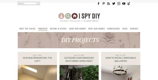 I SPY DIY Blog