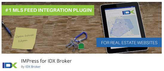 IMPress IDX Broker Plugin