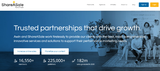 ShareASale Affiliate Management Software