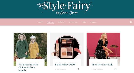 The Style Fairy Blog
