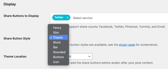 Select Which Button Style to Use