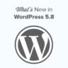 What's New in WordPress 5.8 (Features & Screenshots)