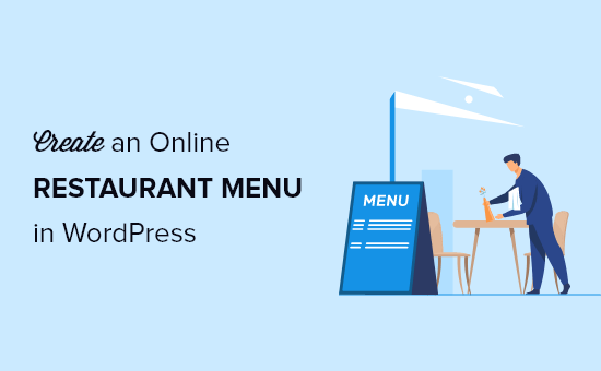 How to create an online restaurant menu in WordPress (step by step)