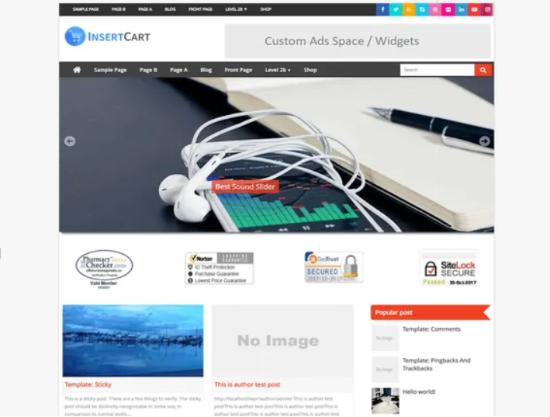 Digital theme for AdSense